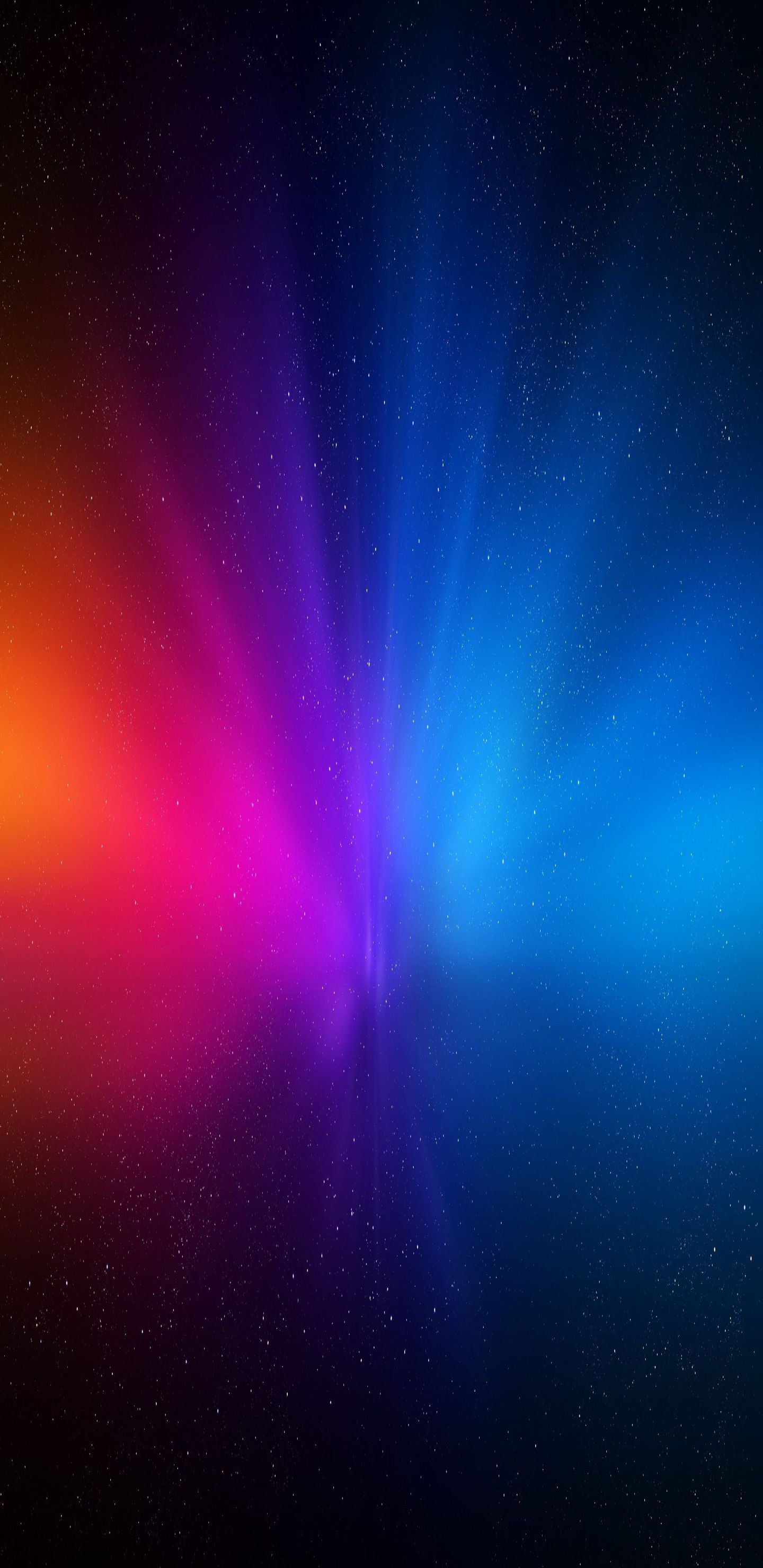 Blue, red, purple, space, minimal, abstract, wallpaper