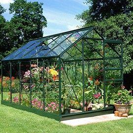 Serre De Jardin Princess Verre Trempe 6 20 M Eden Serre