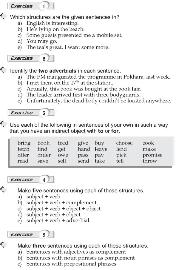 Grade 9 Grammar Lesson 1 Sentence Structure 2 Gramatica