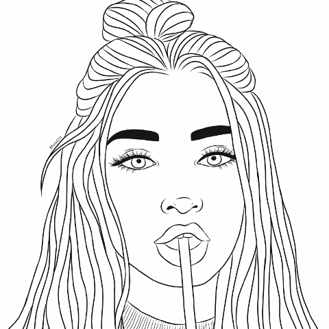 Search For Trending Images On Picsart Outline Art Cool Art Drawings Art Sketches Doodles