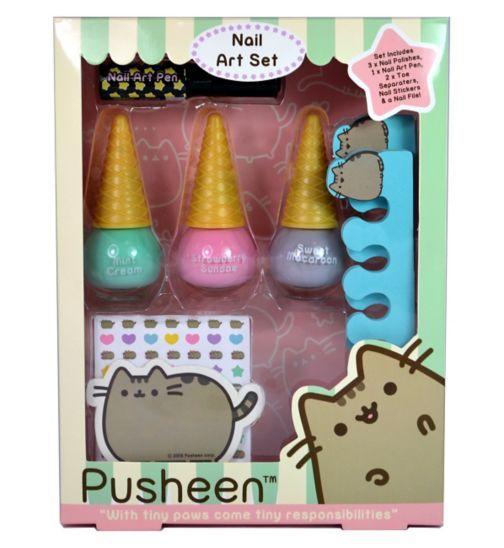 Nail Art Kit Boots: Buy Pusheen Nail Art Set