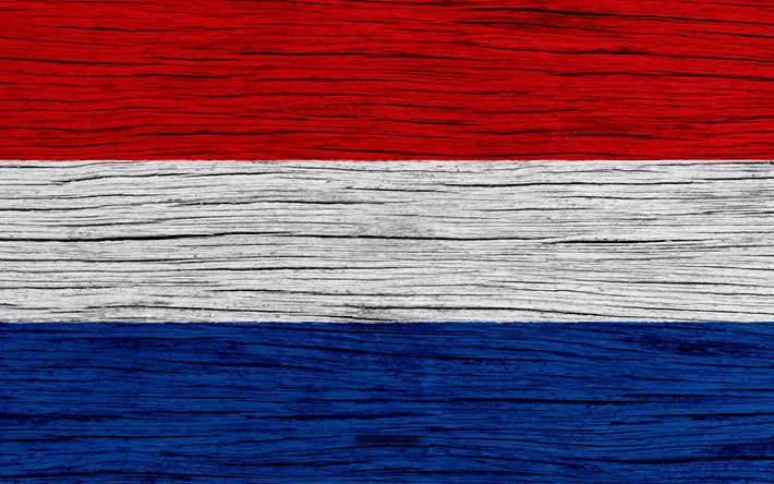 Scarica Sfondi Bandiera Dei Paesi Bassi 4k In Europa Di Legno