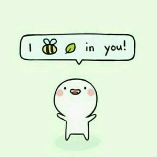 I bee leaf in u   Funny wallpapers, Cute doodles, Inspirational quotes