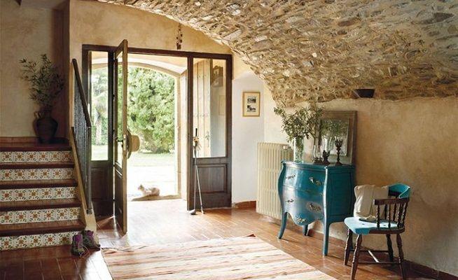 Ideas para un recibidor r stico rustic charm - Entradas rusticas ...
