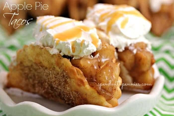 Apple Pie Tacos - Spend With Pennies