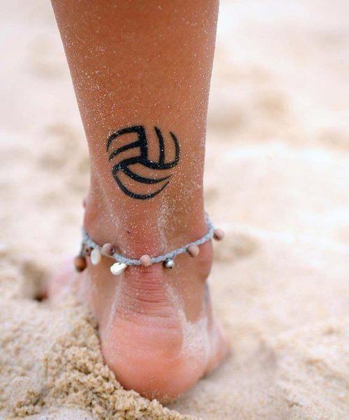 Inspiration: le mini-tattoo   Volleyball tattoos, Volleyball and Tattoo