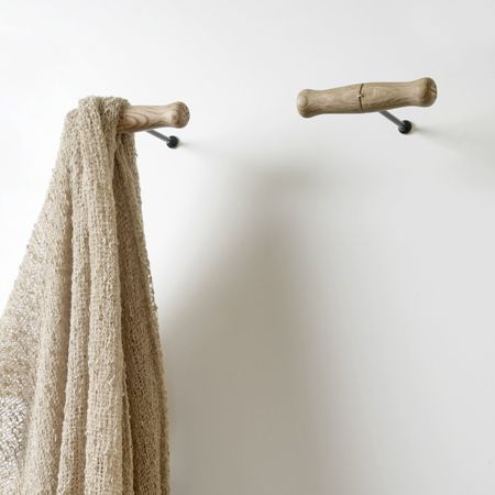 Wall Hangers For Clothes Alluring Corkscrew Coat Hook Via Amordemadre  101 Ideas For Coat Stands Decorating Design