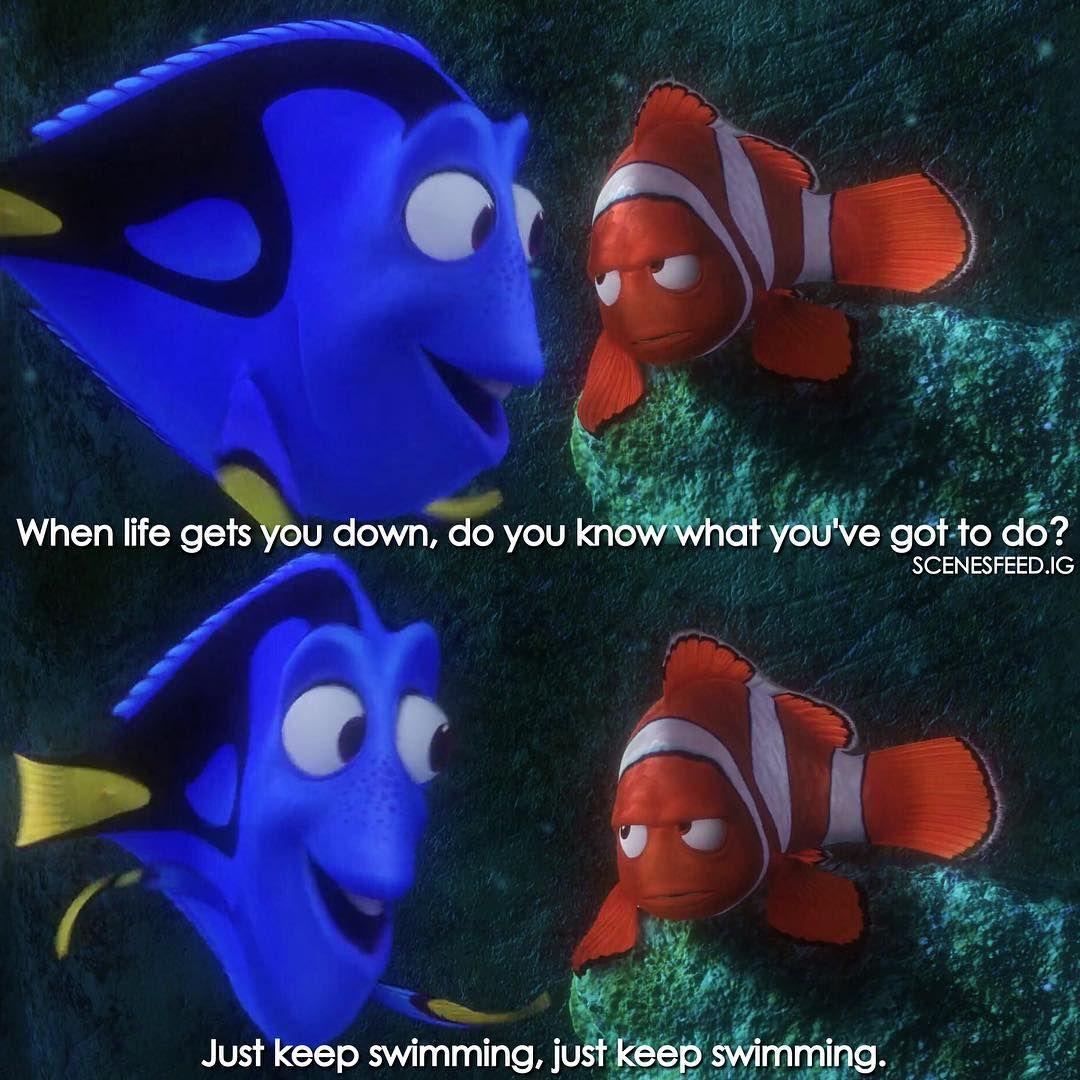 Just keep swimming Frases de filmes, Frases marcantes de