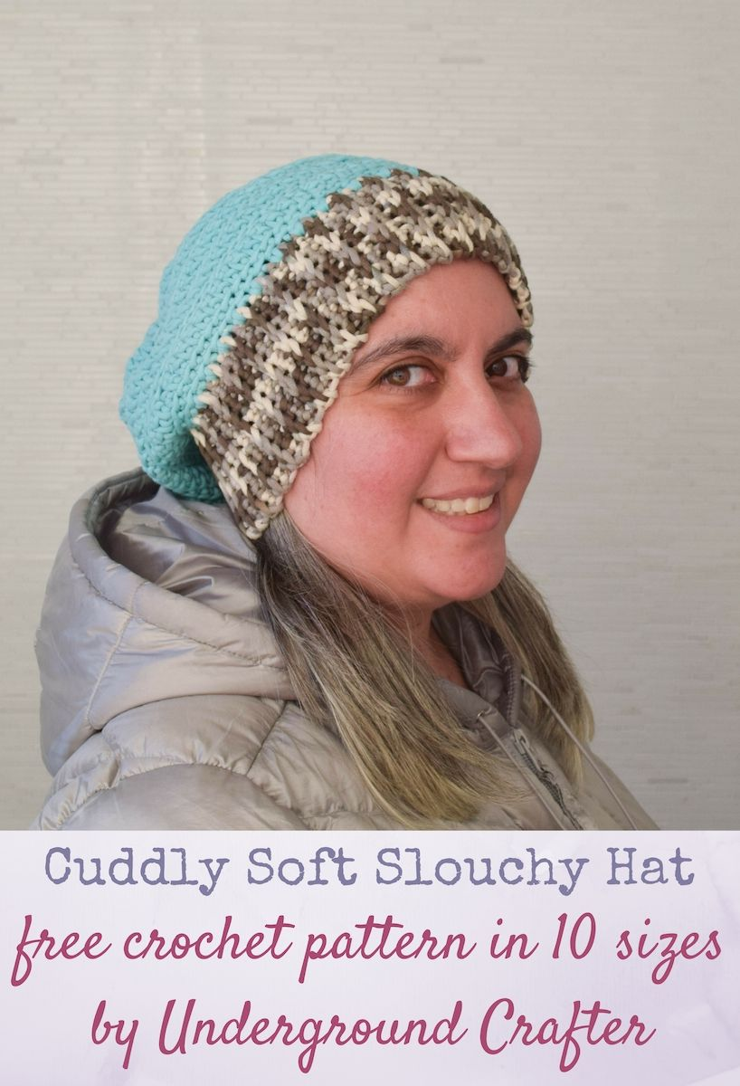 Cuddly soft slouchy hat free crochet pattern in bernat maker home cuddly soft slouchy hat free crochet pattern in bernat maker home dec in 10 sizes bankloansurffo Image collections