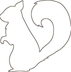 Pix For Squirrel Pattern Printable Clipart Best Clipart Best