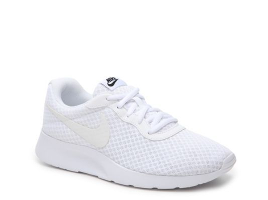 Women s Nike Tanjun Sneaker - - White  670a000497cd