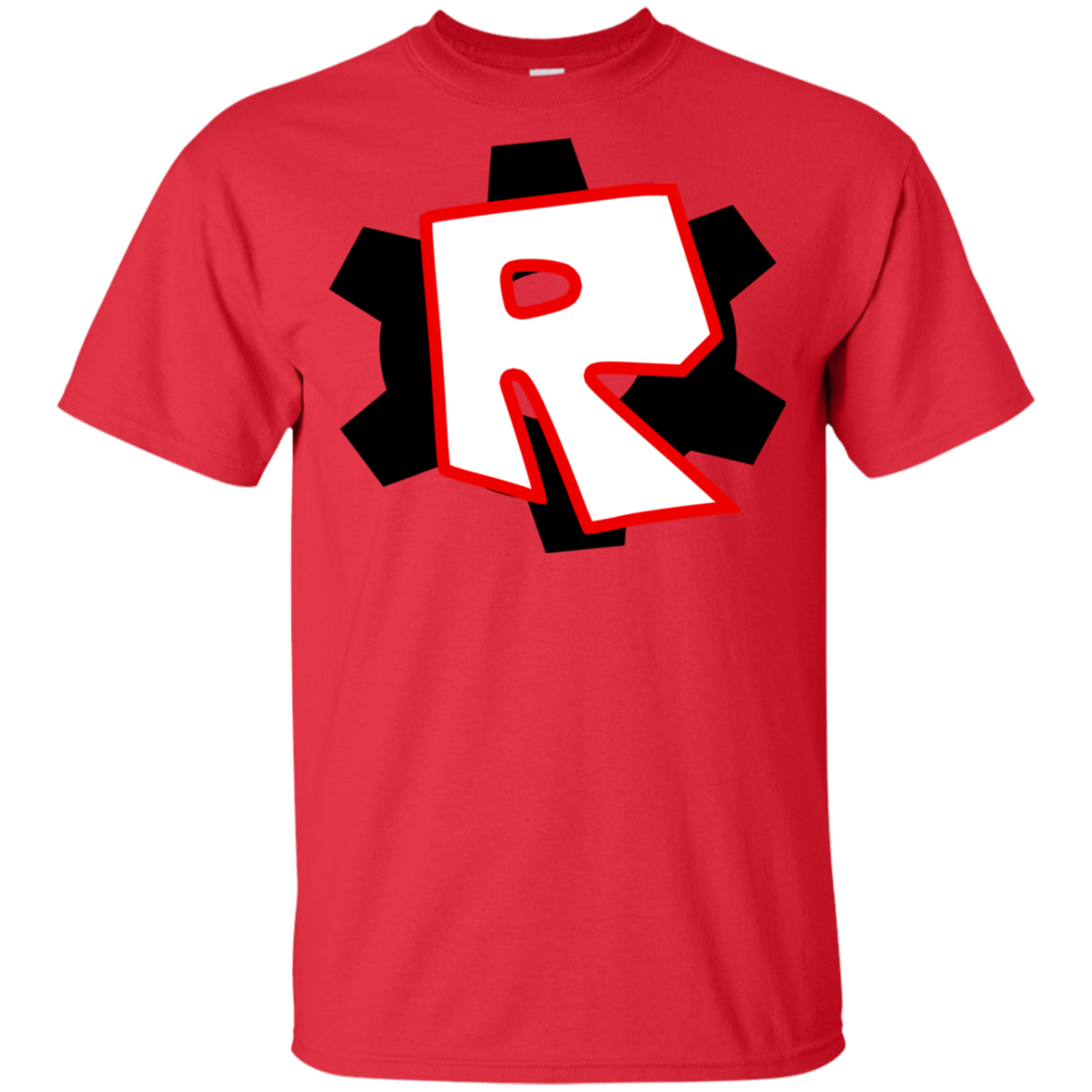 Roblox Kids Shirt Roblox Red or Blue Youth Ultra Cotton