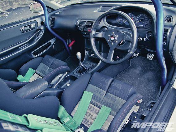 Impp 1112 09 O 2001 Acura Integra Type R Bride Interior Takata