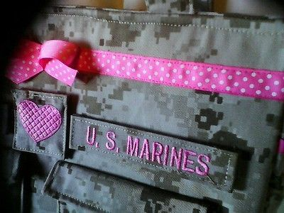 Handmade-Marine-Diaper-bag-unisex-gift-for-Marine-Baby-your-choice-colors-words