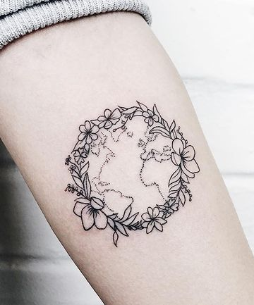 10 Tattoo Designs That Are Perfect for Earth Day