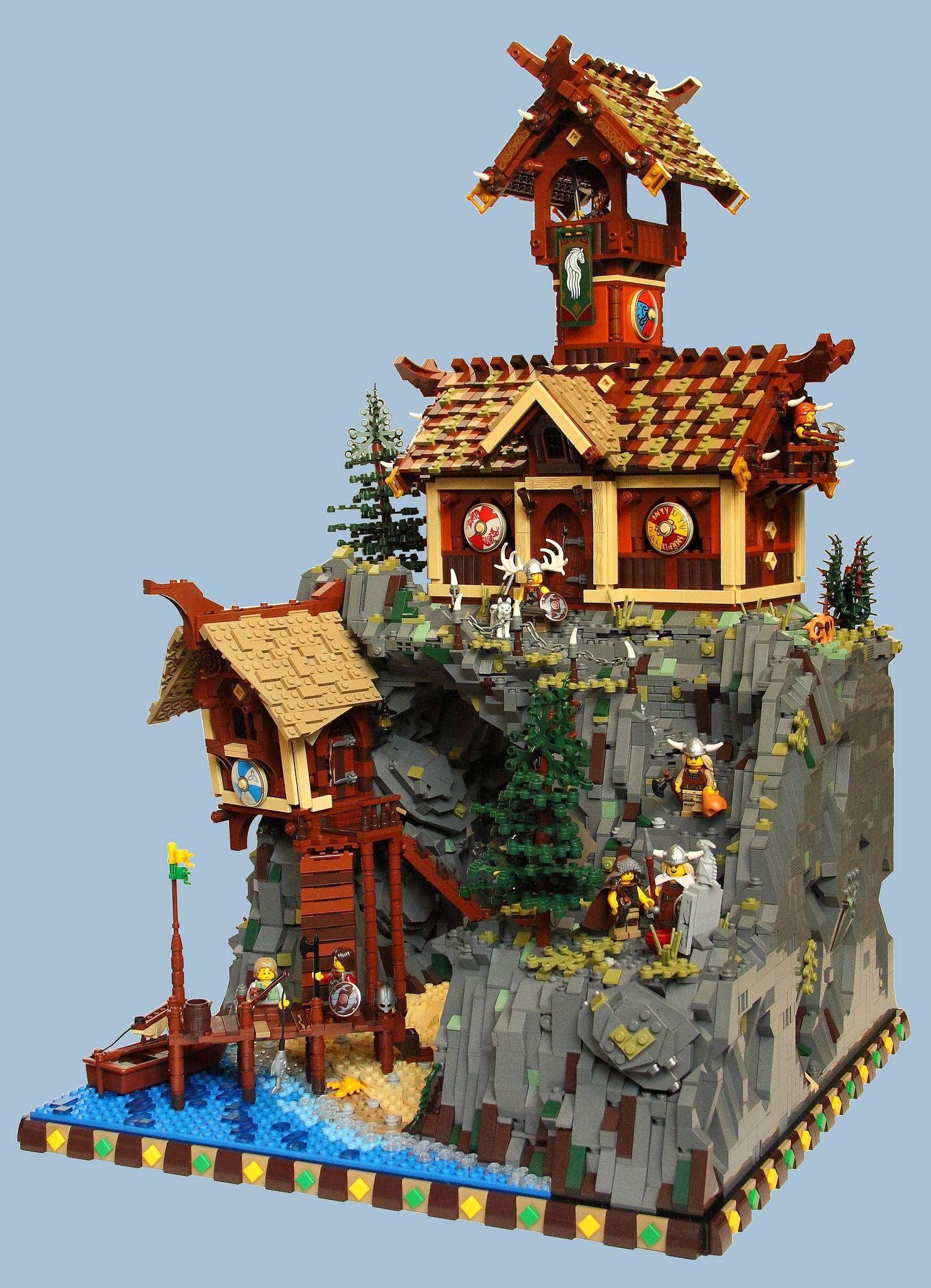 Mitgardia13rb150616 Lego Castle Lego Castle Lego Architecture