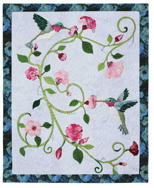 hummingbird delight wall quilt pattern