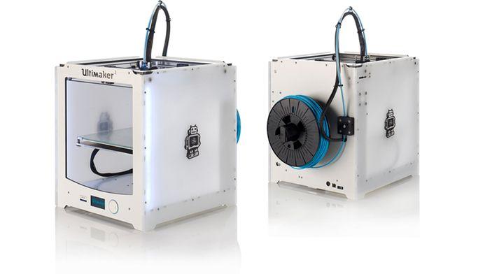 Ultimaker 2 FDM 3D printer  #drukarka3D