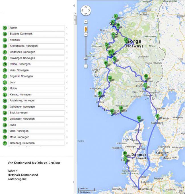 Reisebericht Wohnmobil Urlaub Norwegen 1 Thomas Kussmaul De