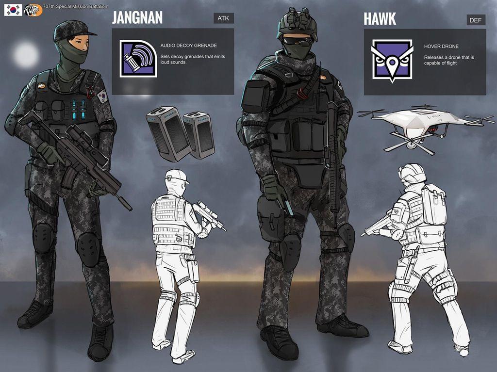 rainbow 6 operator idea