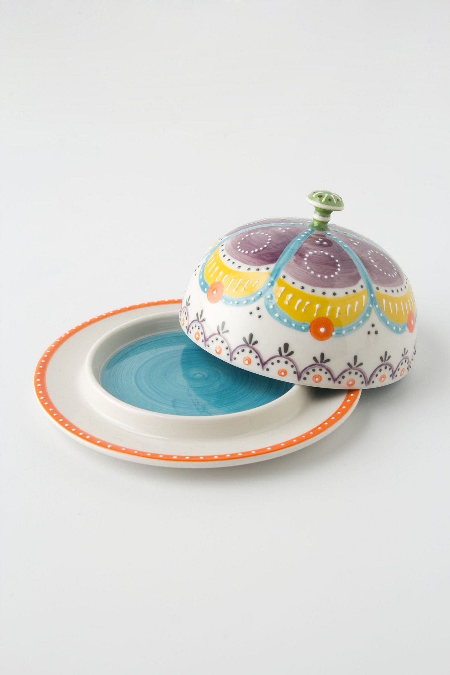 High Quality Carousel Butter Dish