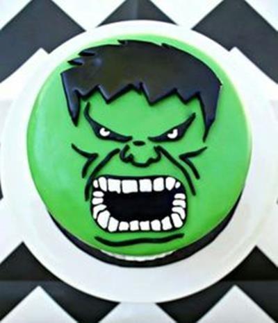 Hulk Birthday Cake Pinteres