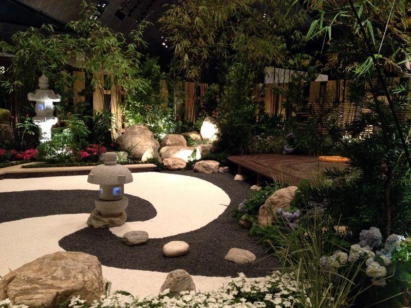 interesting beautiful zen garden | Creative Zen Garden with unusual combination of ...