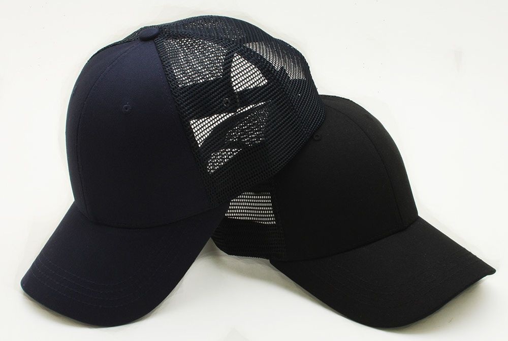 fa10e596443 ... new men big size blank mesh back baseball cap xl 2xl plain trucker hat  hwbm1