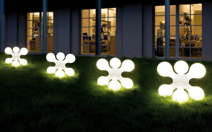 Gartenbeleuchtung 23 Ideen Und Impulse Fur Ein Romantisches Ambiente Solarleuchten Garten Gartenbeleuchtung Hinterhofbeleuchtung