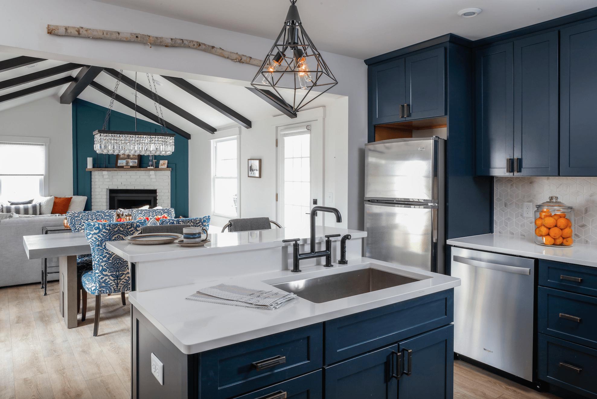 Kitchen Trend: Navy Blue Cabinets - Scott McGillivray ...