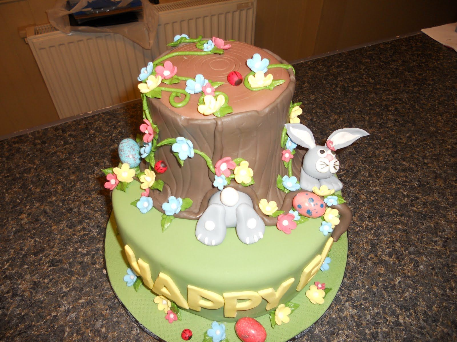Easter Cake Decorations Pinterest : easter cake ideas easter cake the design is from www ...