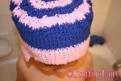 Sombrero de ganchillo Tut