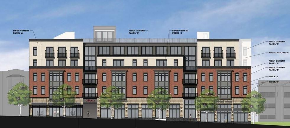 Plan For Mixed Use Building On Cricket Avenue Moves Forward Mix Use Building Building Mixed Use