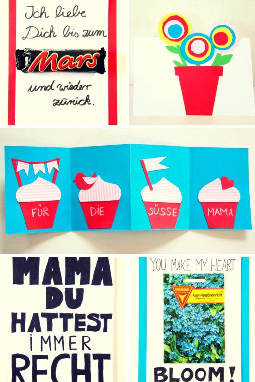 Muttertagskarte basteln | Crafts with kids | Pinterest ...