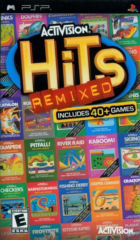 Enjoy wonderful 80s era video games and experience the very cool classics such as Pitfall in Activision Hits Remixed