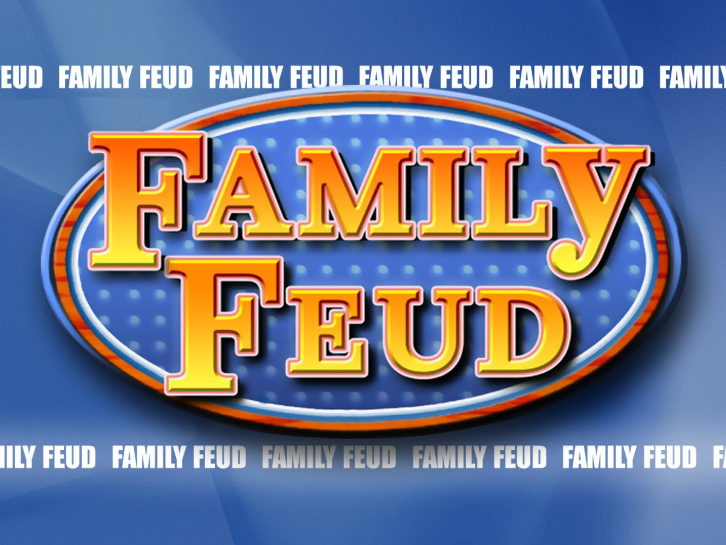 Family Feud PowerPoint Template 1 Family feud game