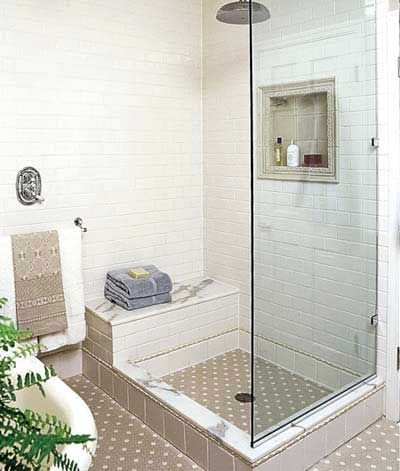 Showers Vintage Walls Dream Shower Updated Vintage Bath Before