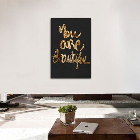 You Really Are Canvas Print, Oliver Gal