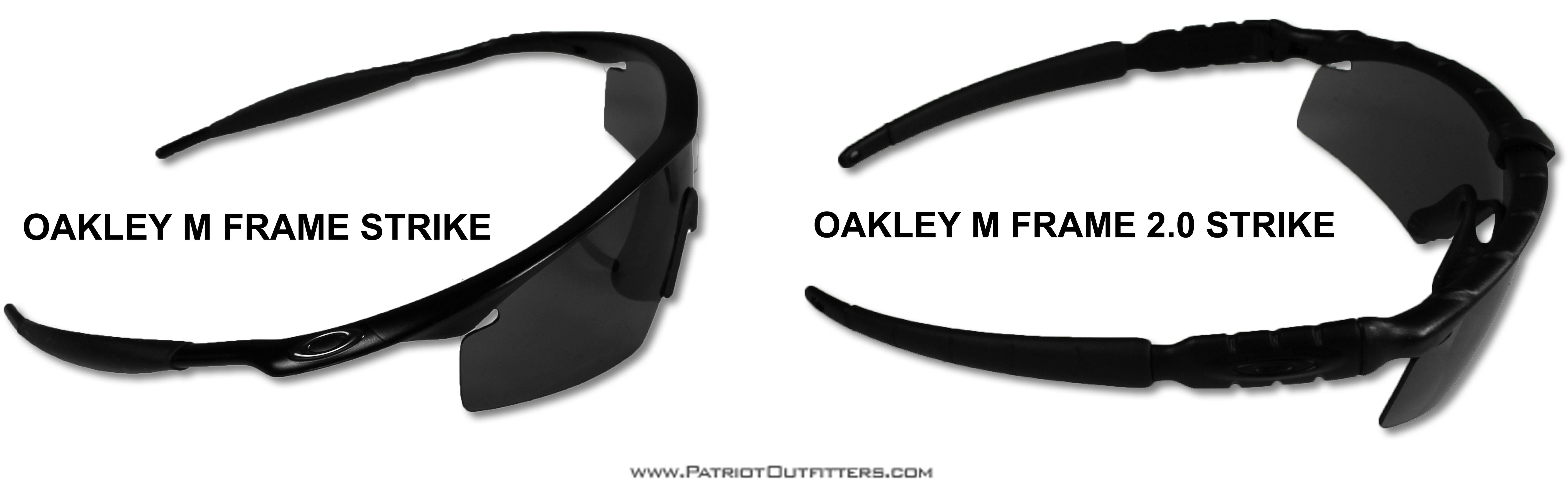 719d9332cd Oakley M Frame and M Frame 2.0 Strike Comparison