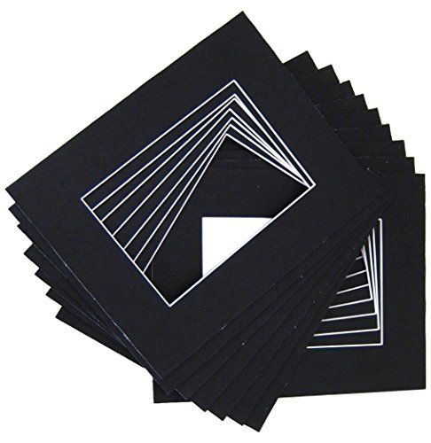 Golden State Art 100 Pcs Of 5x7 Mix Color Picture Mats Mattes Matting For 4x6 Photo Backing Bags Matting Pictures Picture Framing Supplies Picture Frame Shop