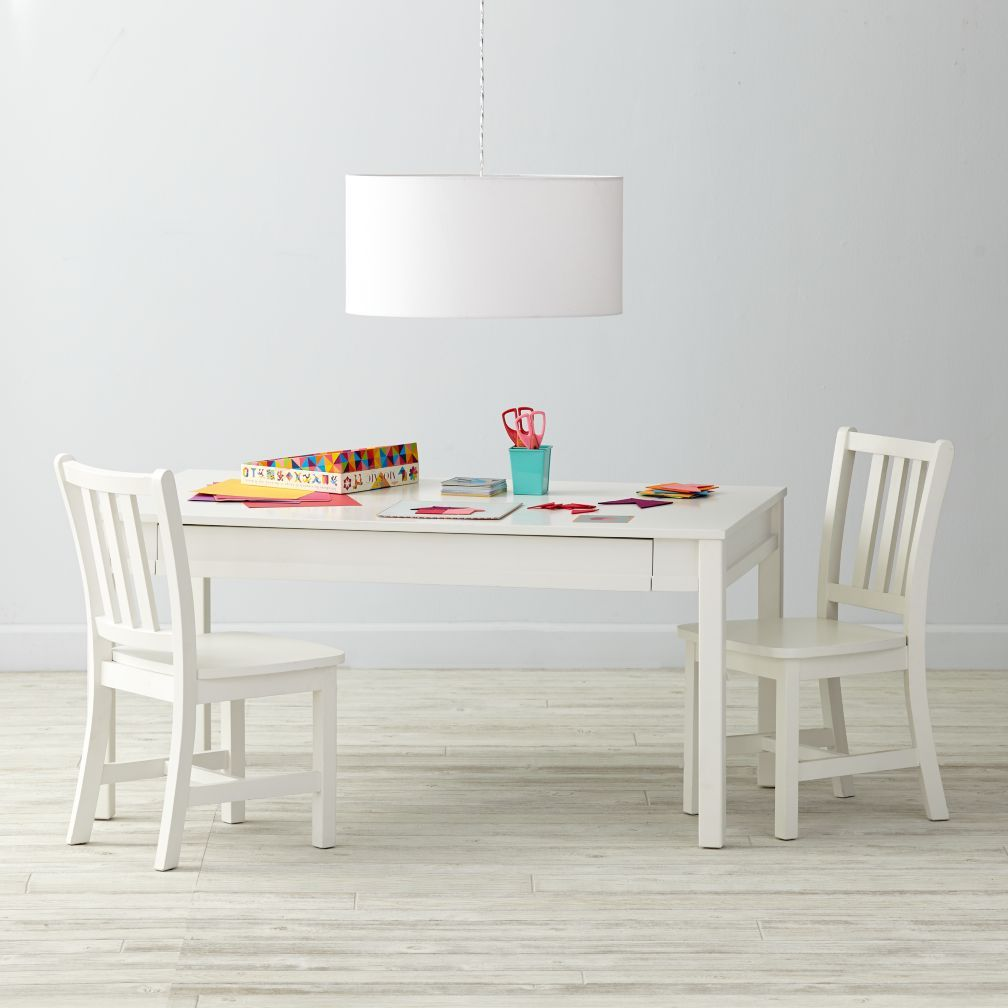 medium adjustable white activity table | play table, playrooms and