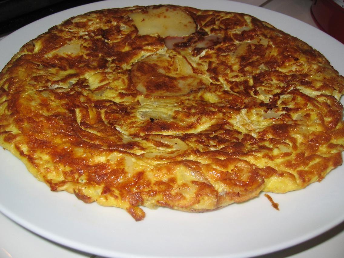 Spanish tortilla. Dinner, Lunch, Breakfast