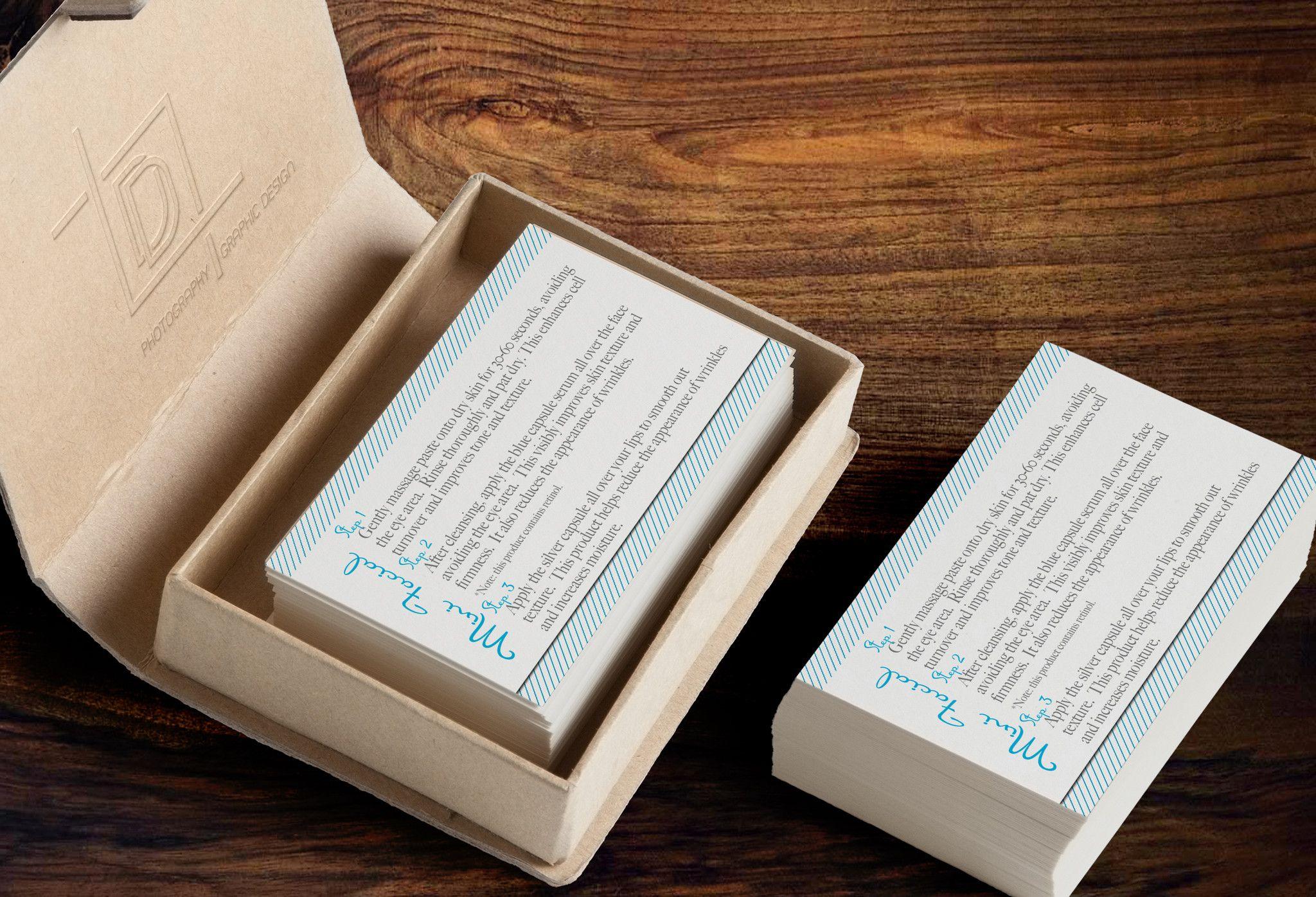 Rodan + Fields Mini Facial Business Card Template - Independent ...