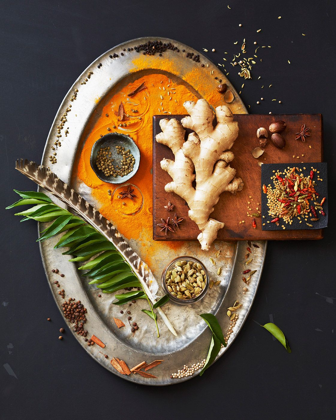 Indian Food Plate Photography