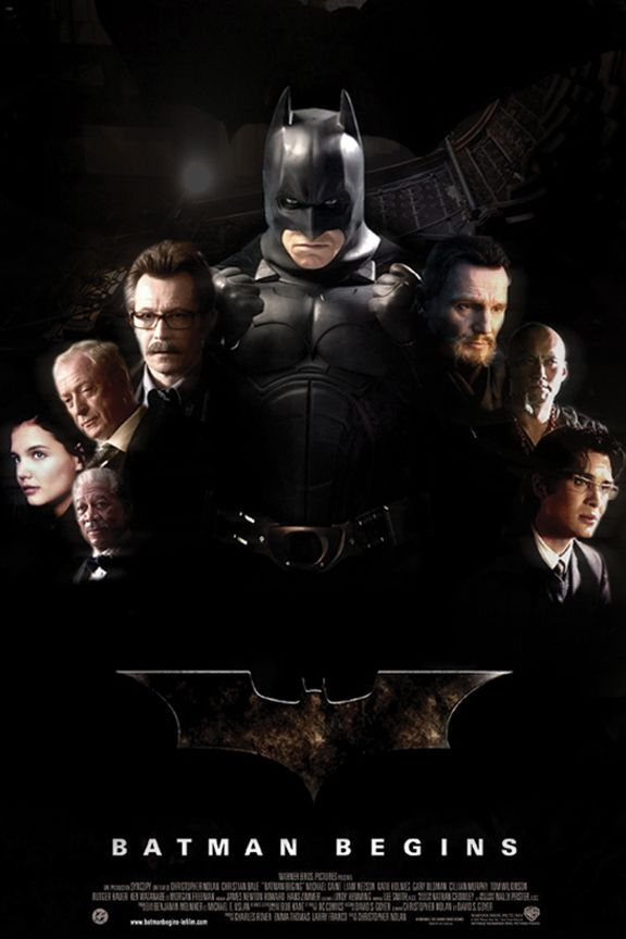 Batman Begins 2005 Batman Begins Films De Super Heros Batman
