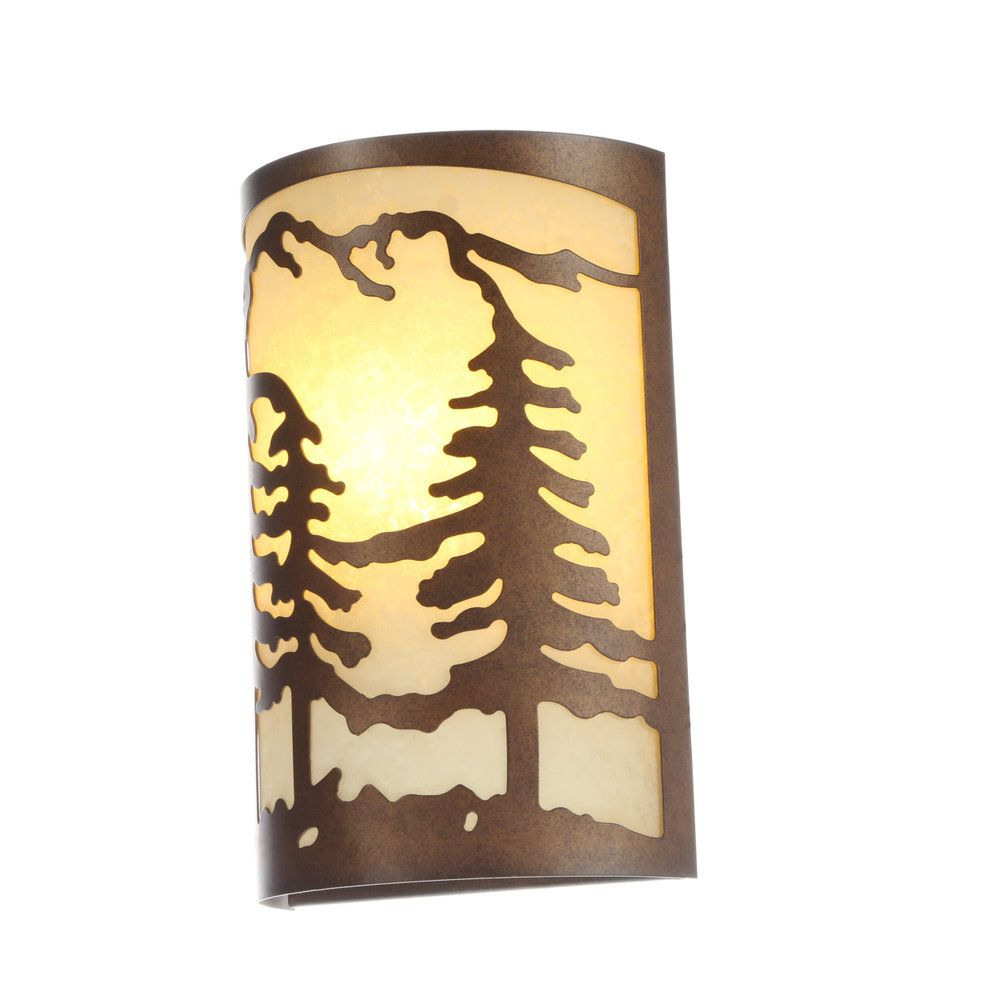 Bridgeview 1light Wall Sconce In Mission Dust Bronze