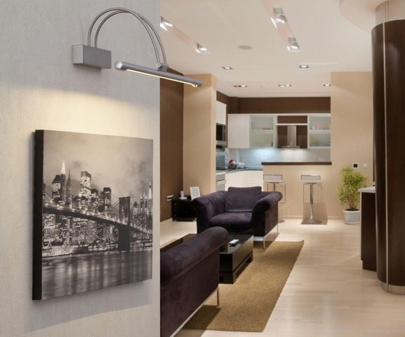 Lampara Aplique Para Iluminar Cuadros Con Led Tienda De Lamparas Ventiladores De Techo Decoracion Y Regalos Originales Ilum Home Decor Indoor Decor Design