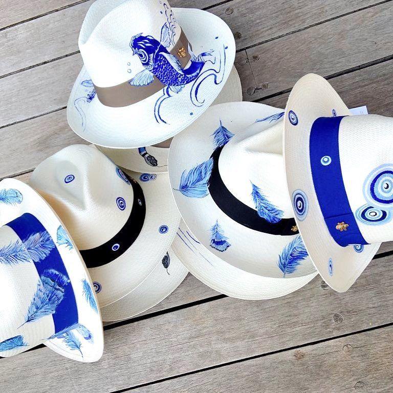 110 Ideas De Sombreros Sombreros Sombreros Pintados A Mano Sombreros De Playa