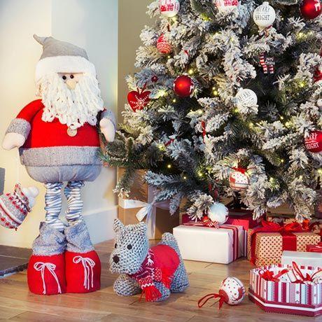 Homespun - Traditional Christmas decorations - Homebase # ...