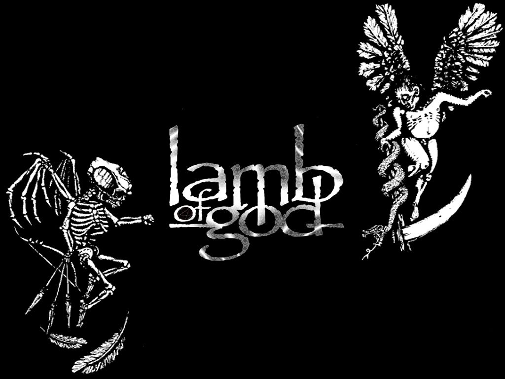 Joey jordison style favor photos pictures and wallpapers for - Lamb Of God Emotioanal Hd Pictures Lamb Of God Logo Band Wallpapers